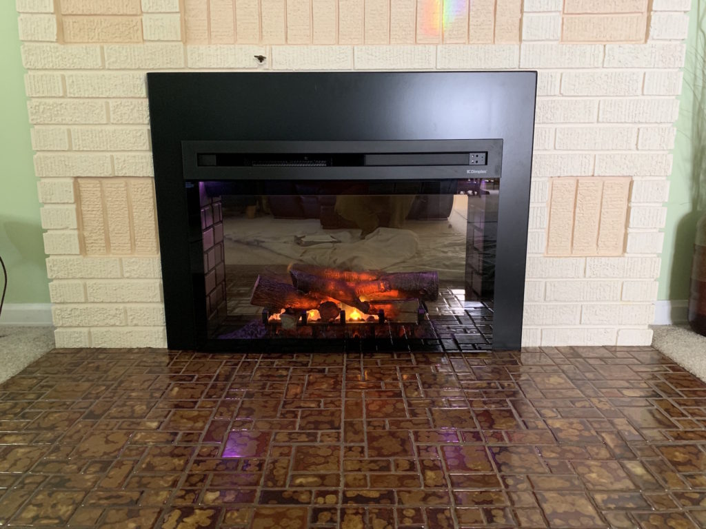 - Electric Fireplace Insert